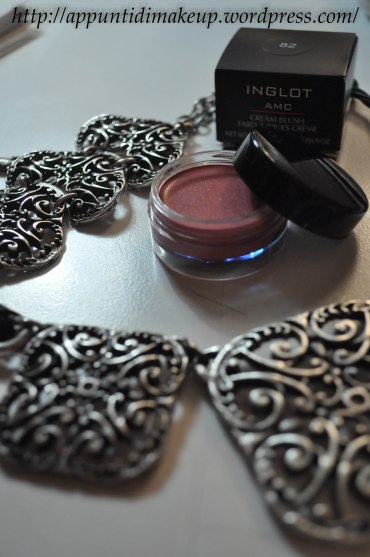 inglot blush in crema overview
