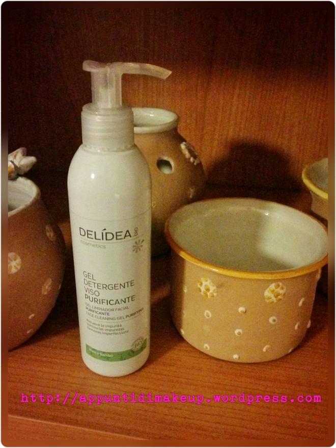 delidea gel detergente viso purificante