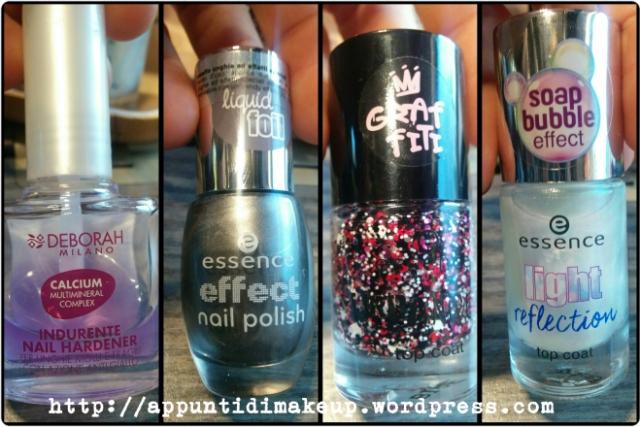 35 shine brighter liquid foil effect Essence 01 be my town homie effetto graffiti TE urbaniced light reflection soap bubble effect